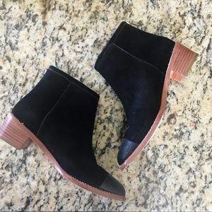 Loeffler Randall Black Suede Carmen Chelsea Boot
